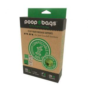 Bolsas Biodegradables Para Desechos De Perro Con Asas. Incluye 120 Bolsas
