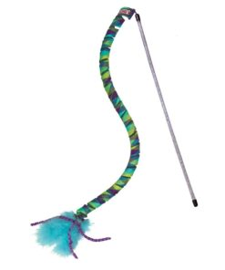 Juguete con espirales y plumas para gato KONG