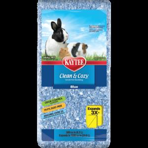 Sustrato para conejo y cuyo Super Absorbente Control De Olores Azul