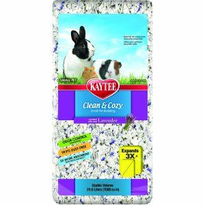 Sustrato para conejo y cuyo Super Absorbente Control De Olores Lavanda