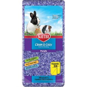 Sustrato para conejo y cuyo Super Absorbente Control De Olores Morado