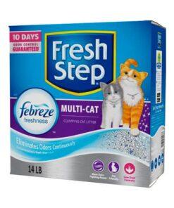 Arena Para Gato Aglutinante Fresh Step 6.35 Kilos Suscripción Mensual