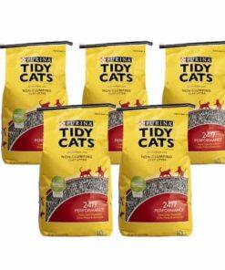 Arena Para Gato Super Absorbente Tidy Cats Paquete 5 bolsas