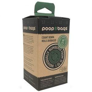 Bolsas Biodegradables Para Desechos De Perro. Incluye 8 Rollos, 120 Bolsas