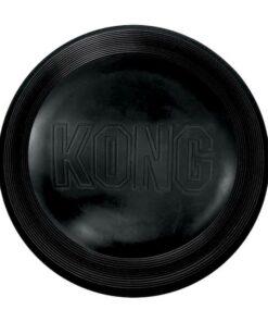 Disco Fresbee de caucho negro KONG