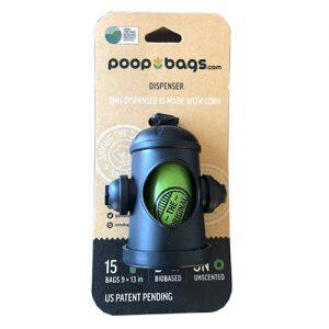Dispensador De Bolsas Para Desechos De Perros, Material Reciclado Incluye 15 Bolsas