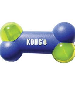 Juguete Squeezz Action con forma de hueso KONG