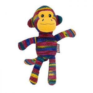 Juguete en forma de mono con hilo reforzado KONG