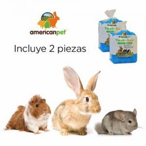 Pasto Timothy para Conejo, Cuyo y Chinchilla 680g Suscripción Mensual