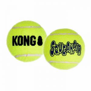 Pelota de tenis con sonido chirriador KONG