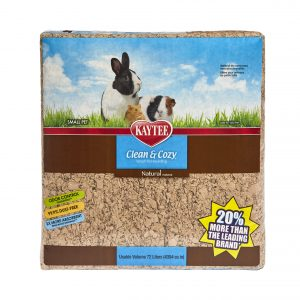 Sustrato para conejo y cuyo Super Absorbente Control de Olores Natural