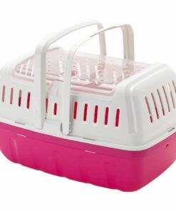 Transportadora Para Viaje Pequeñas Especies Hipster Small rosa