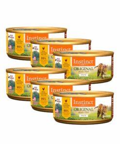 Alimento Gato Pollo Lata Instinct 156 gramos 6 Piezas