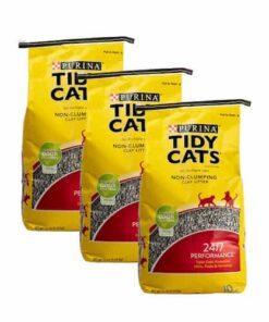 Arena Para Gato Super Absorbente Tidy Cats Paquete 3 Bolsas