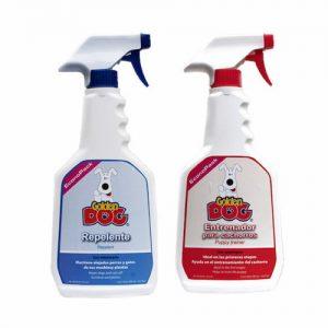 Atrayente Entrenador Perro Y Repelente Perro Golden Dog Spray Econopack