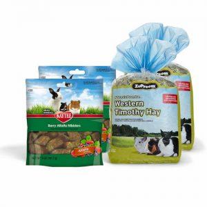 Heno Para Conejo Más Pasto Zupreem Más Premio Para Mascotas 4 Piezas
