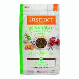 Instinct Be Natural Alimento Para Perro Sabor Cordero