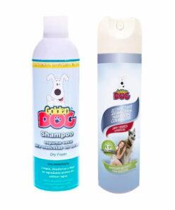Shampoo Perro Espuma Seca Y Desinfectante Ambiental Antibacterial Golden Dog