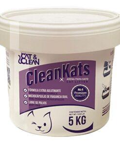 Arena Para Gato CleanKats Premium Cubeta 5 kilos