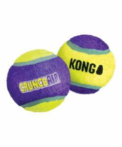 Pelota de tenis mediana con sonido crunch KONG