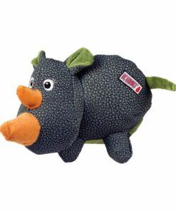 Rinoceronte de juguete para perro KONG