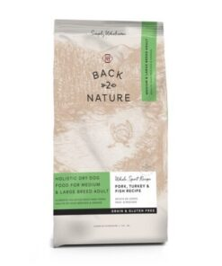 Alimento Natural Perro Adulto Razas Medianas y Grandes Back 2 Nature