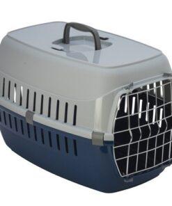 Transportadora Mediana Para Gato Road Runner Con Puerta De Metal 4