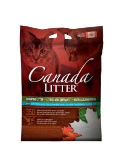 Arena Para Gato Aglutinante Con Aroma A Talco Canada Litter 6Kg