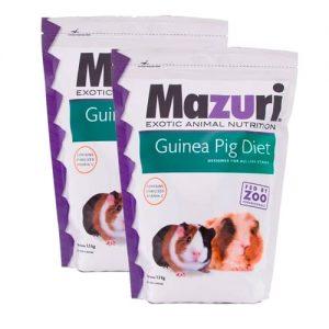 Alimento Para Cuyo 1.3 Kg Mazuri Paquete 2 Piezas