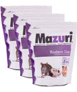 Alimento Para Hámster y Ratón 650 grs Mazuri Paquete 3 Piezas