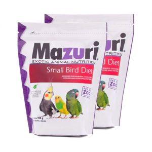 Alimento Para Pequeñas Aves 350 grs Mazuri Paquete 2 Piezas
