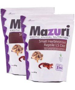 Alimento Pequeños Reptiles Herbívoros 450 grs Mazuri Paquete 2 Piezas