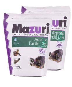 Alimento Tortuga Acuática 350 grs Mazuri Paquete 2 Piezas