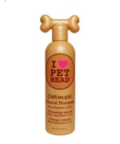 Champú Natural Oatmeal Pet Head Para Perro