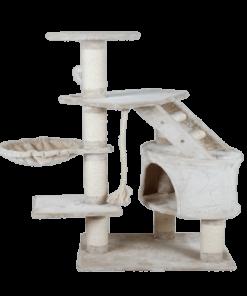 Rascador Para Gato Con Casa Y Hamaca 120 cm
